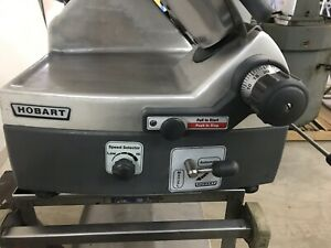 Hobart 2912 Automatic 6 speed 12 Meat Slicer Nsf W Factory Sharpener Unit 2