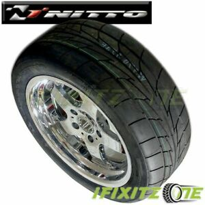 1 X Nitto Nt555r Extreme Drag P245 50r16 96v Dot Compliant Competition Tires