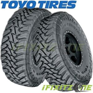 2 X New Toyo Open Country Mt 37x12 50r22lt F 12 127q Tires