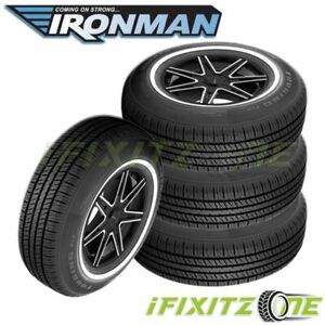 4 X New Ironman Touring Pro 215 75r15 100s Tires