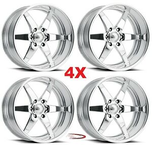20 Pro Wheels Rims Stealth 6 Forged Billet Polished Aluminum Us Specialties Mags