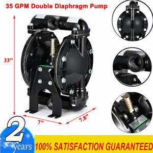35gpm Air operated Double Diaphragm Pump 1 Outlet Petroleum Fluids 1 Inlet Us