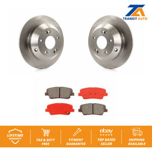 Rear Disc Rotors Semi Metallic Brake Pads Fits Kia Hyundai Sorento Santa Fe