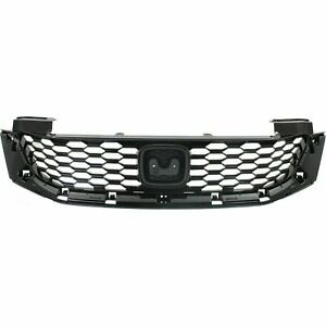 New Grille For 2013 2015 Honda Accord Coupe Ho1200217 Ships Today