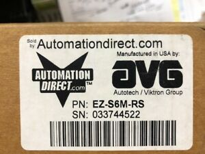 Automation Direct Ez s6m rs 6 touch Screen