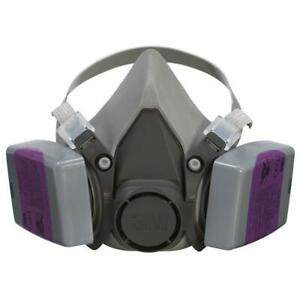 3m Respirator Dust Mask Half Face Lead Paint Removal Cool Flow Valve case Of 4