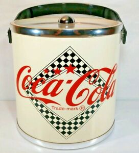 CLASSIC Coca Cola Ice Bucket Made In USA