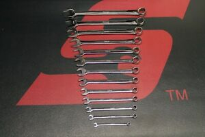 Snap On Sae 12 Point Combination Wrench Set 13 Pieces 1 4 1