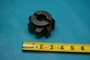 Used Ingersoll 3 Indexable Face Mill 2j6b03r01
