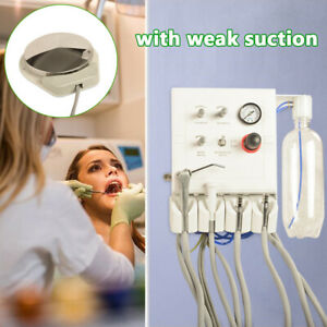 Wall Mouted Portable Dental Turbine Unit Work With Air Compresso Weak Sucti