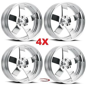 24 Pro Wheels Rims Magg Forged Billet Polished Aluminum Us Specialties Line