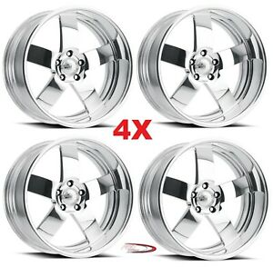 20 Pro Wheels Rims Magg Forged Billet Polished Aluminum Us Specialties Line