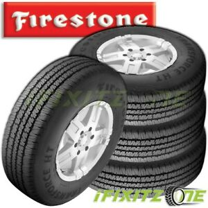 4 Firestone Transforce Ht Lt245 70r17 E 10ply All Season Commercial Truc