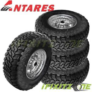 4 New Antares Deep Digger 33x12 50r18lt 10 Tl All Terrain Tires
