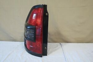 01 02 Mitsubishi Montero Outer Tail Light Lamp Left Driver Side Black Trim Oem