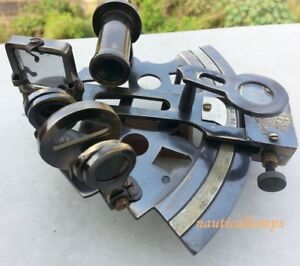 Navy Working Astrolabe Sextant Vintage Style Maritime Black Finish Sextant 5