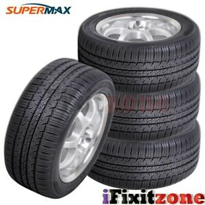 4 Supermax Tm 1 Tm1 All Season A s Traction Premium Touring 215 45r17 87v Tires