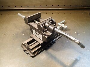 Amt X y Cross Slide Drill Press Vise 3 1 4 Wide Jaws Open 2 1 2 005 Nos