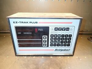 Bridgeport Ez trak Plus 15722 3 axis Digital Read out Dro Cnc Controller Proto