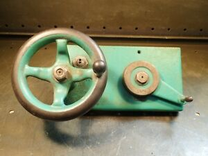 South Bend 9 Junior New Model Lathe Parts Apron Assembly With Handle