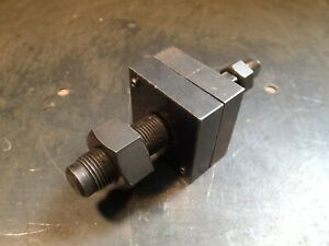 Greenlee Radio Chassis 1 Square Knockout Punch Die Set 60017 60018 Used Good