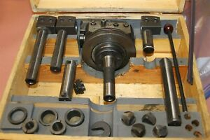 Narex Vhu 2 1 8 Boring And Facing Head Kit With R8 Bridgeport Collet