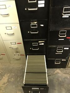 684 Pcs Of Letter Size Hanging File Folders With Used Cabinet Included