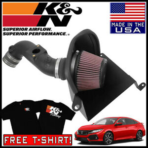 K n Aircharger Fipk Cold Air Intake System Fits 2016 2020 Honda Civic 2 0l L4
