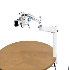 Tiltable Head Portable Dental Operating Microscope 3 Step Magnification 110 240v