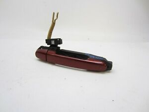 04 09 Toyota Prius Passenger Right Rear Exterior Outside Door Handle Red