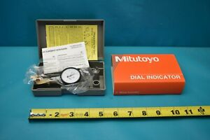 Used Mitutoyo Dial Test Indicator 513 403 With Case