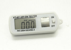 Air Ion Tester Meter Counter ve Negative Ions With Peak Maximum Hold
