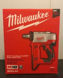 New Milwaukee M18 Cordless Propex Expansion Tool 2632 20 bare Tool