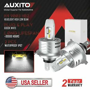 Auxito 9005 Hb3 Led Headlight Bulb Conversion Kit High Beam 72w 6500k 16000lm