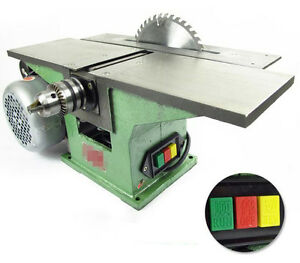 Multifunctional Bench Woodworking Machine For Planing Sawing Drilling 220v