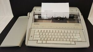 Brother Gx 7750 Typewriter Portable Electronic Daisy Wheel Tested Working