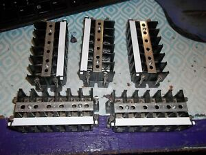 Lot Of 5 Marathon 6 Circuit 75a Terminal Block dr3e1