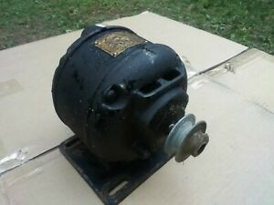 Vintage antique Emerson Electric Motor 1 10 Hp