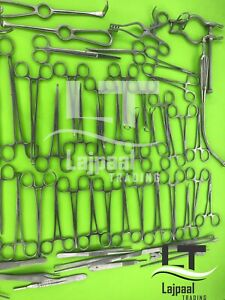 Basic Laparotomy Set Medical Surgical Instruments Best Quality By Lajpaal