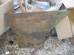 Oliver 77 Gas Row Crop Tractor Rear Side Panel