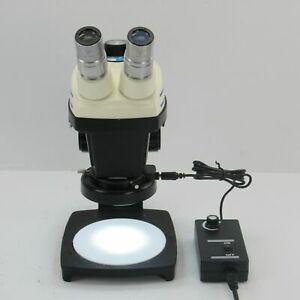 Bausch 0 8x 4 0x Stereo Zoom 5 Microscope W 10x Eyepieces Stand