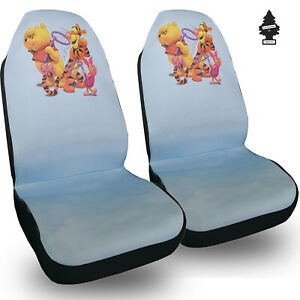 For Mercedes New Disney Winnie The Pool Car Truck Suv Auto Seat Covers Set