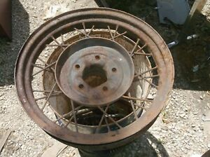 1930 1931 Model A Ford Wire Wheel 19 Inch Man Cave Garden Rat Rod