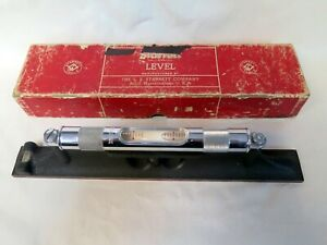 Starrett 98 12 12 Inch Machinist Level Ojl 95893 12