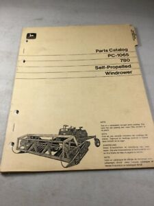John Deere 780 Windrower Parts Catalog Manual