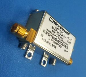 New Mini circuits Zx60 542ln s Low Noise Amplifier 4 4 To 5 4 Mhz Sma