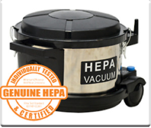 Sterling Hepa Filter Commercial Canister Vacuum