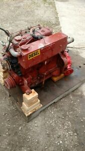 Isuzu Pisces C240 Marine Diesel Engine 60 Hp 4 Cylinder With Transmission
