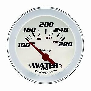 8262 Equus 8262 2 Electric Water Temperature Gauge