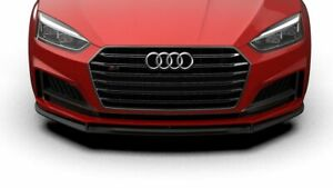 For Audi A5 S5 Performance Style Sport Front Valance Spoiler Addon Lip
